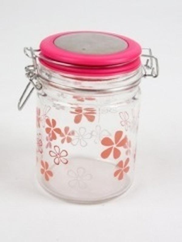 Cilinder Glas Roos Gr Bloem H 14,5 x B 9,5 cm