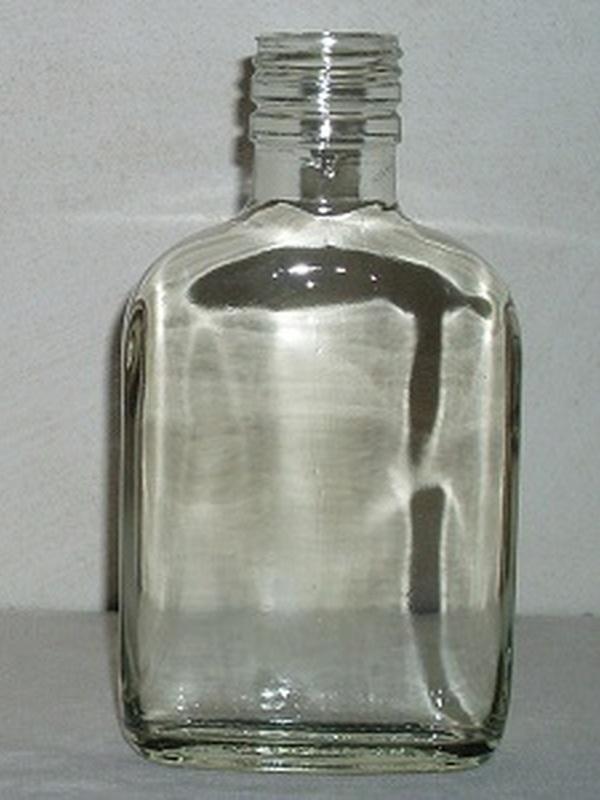Glazen Zakfles 20 cl + Draaistop