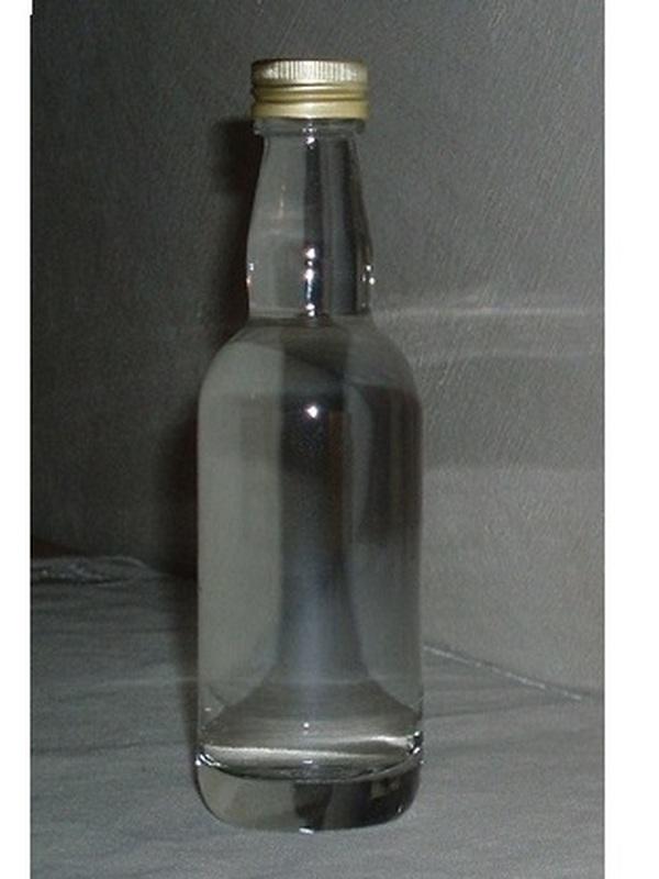 Glazen Drankflesje Whisky 5 cl