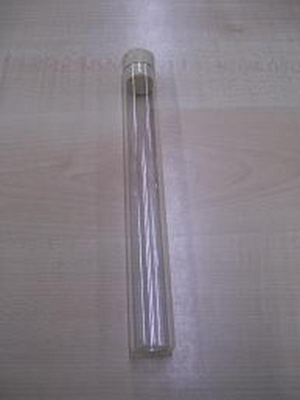 Glazen Buisje + Kurk met lichte stop 20 cm