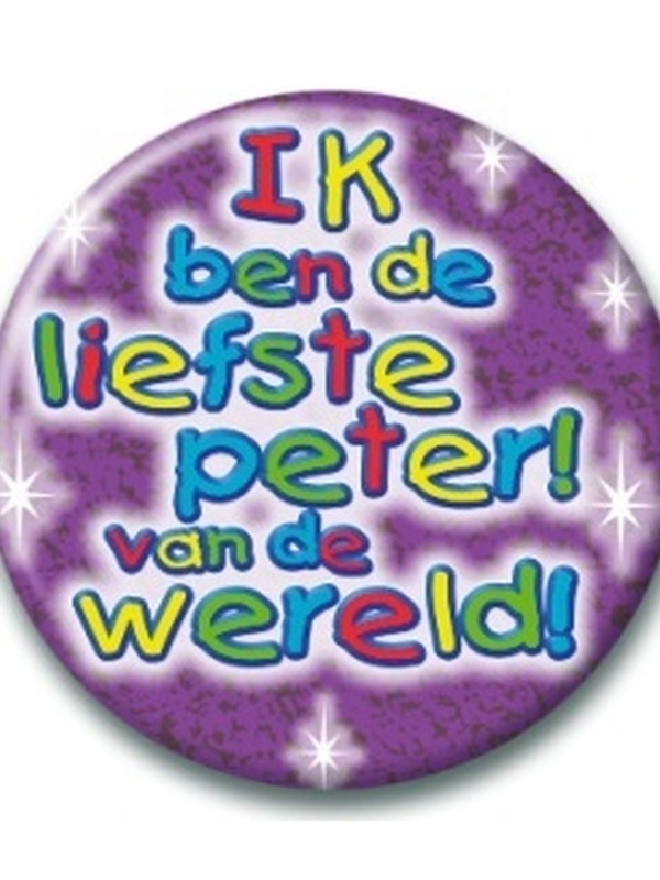 Button Liefste Peter