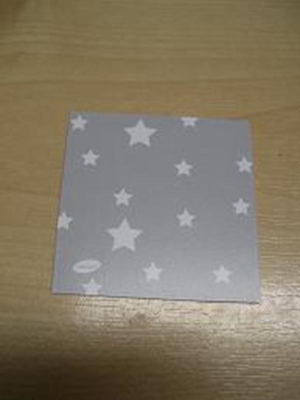 Patchwork Label Grijs-Sterretjes