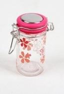 Cilinder Glas Roos Klein Bloem H 9 x B 4,5 cm