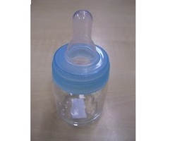 Papfles Glas Blauwe Ring 5cl
