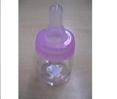 Papfles Glas Roze Ring 5cl