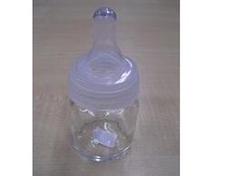 Papfles Glas Witte Ring 5cl / 9.5cm x 4.5 cm