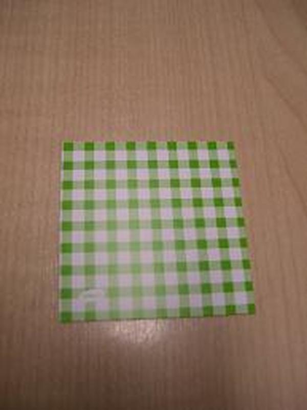 Patchwork Label Groen