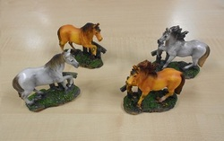 Paard klein 9 x 8 cm per stuk