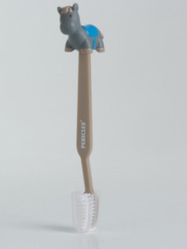 Paard Jumper Blauw Tandenborstel