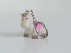 Paard Jumper Roze Sleutelhanger