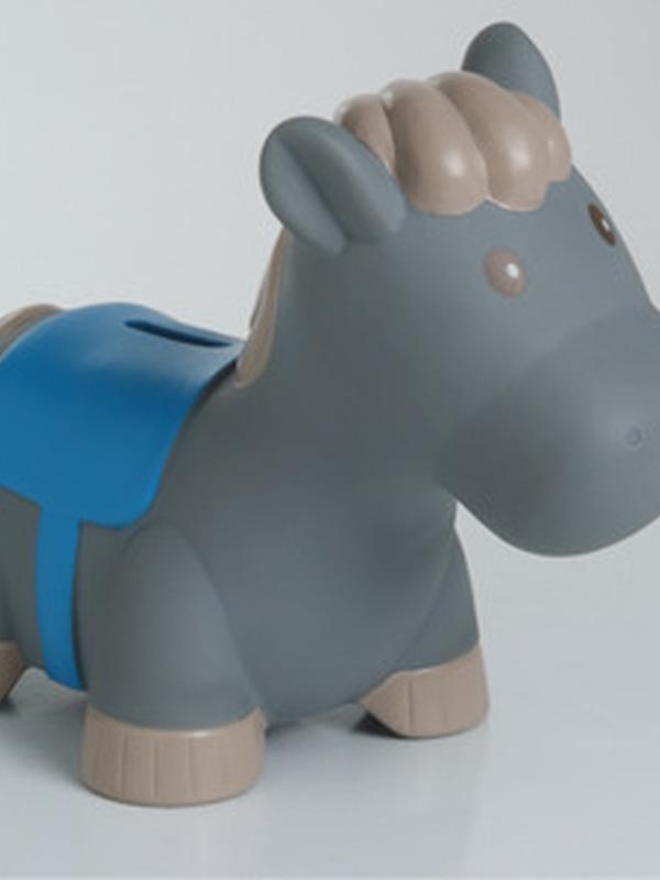 Paard Jumper Blauw Groot Spaarpot