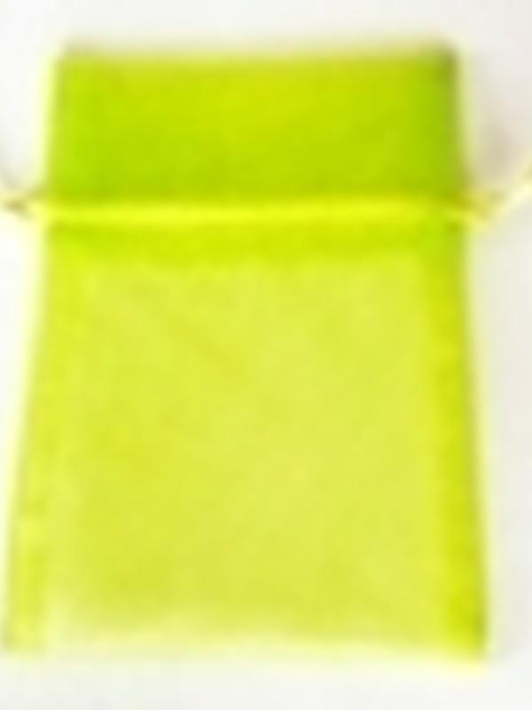 Organza Zakje Fel Groen ( Lime )