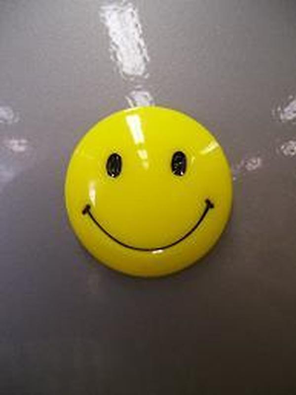 Magneet Smiley 4,5 cm