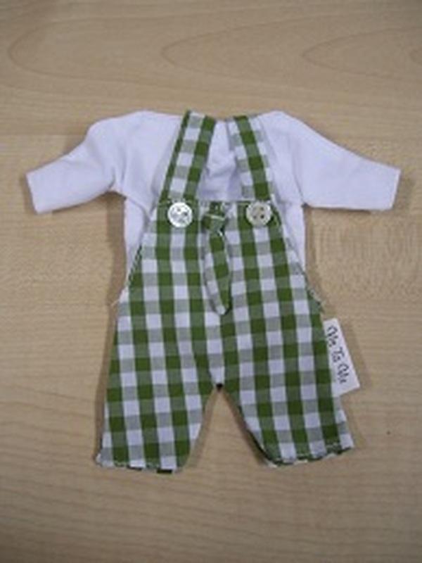 Broekpak + Das Vichy Groen
