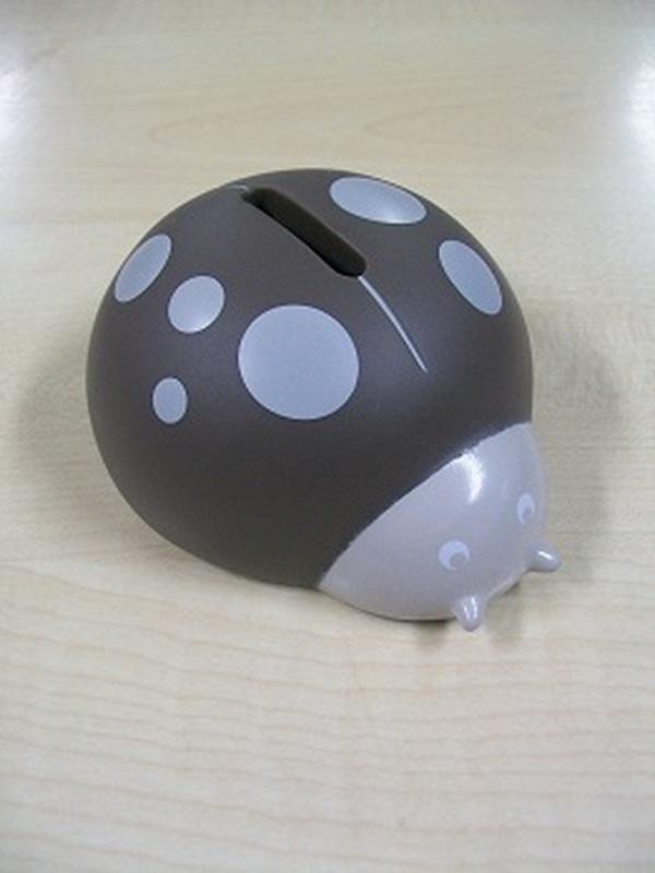 Pim-Pam Mini Spaarpot Taupe