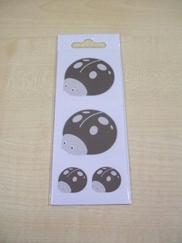Pim-Pam Stickers Set Taupe 32 Kleine + 2 Grote