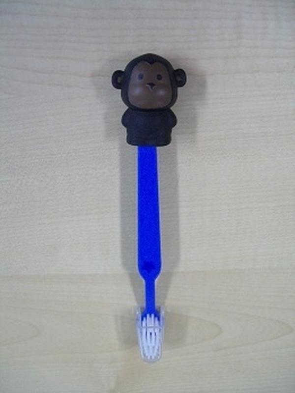 Aap Boboo Tandenborstel Marine Blauw