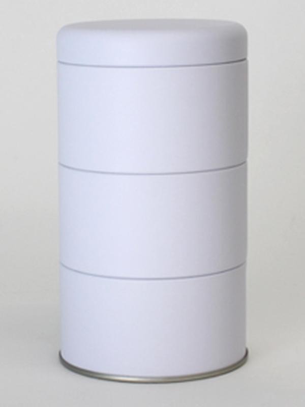WIT BLIK ROND 3 STUKS MET DEKSEL 85(DIA)x125(H) MM
