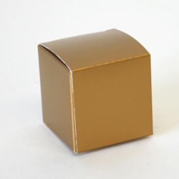 Karton kubus Goud