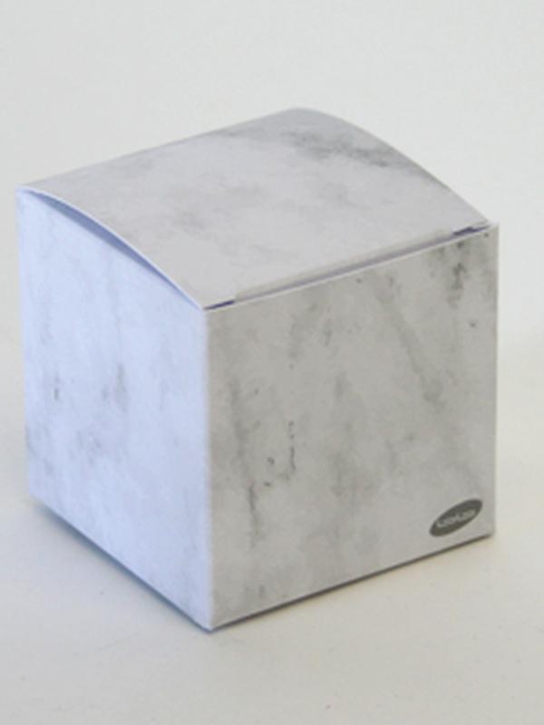 Karton kubus Marmer