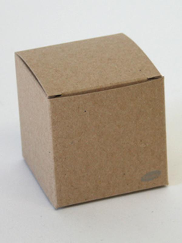 Karton kubus Kraft