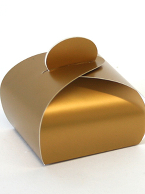 Karton Goud Bonbon Doosje 45 MM H X 60 MM