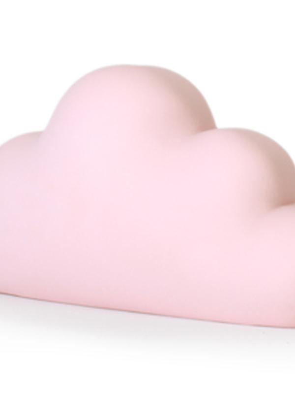 Wolkje Roos Spaarpot 18 cm