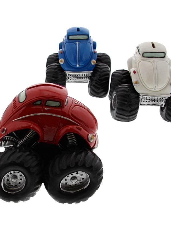 Vw Kever Monstertruck Spaarpot Groot prijs per stuk