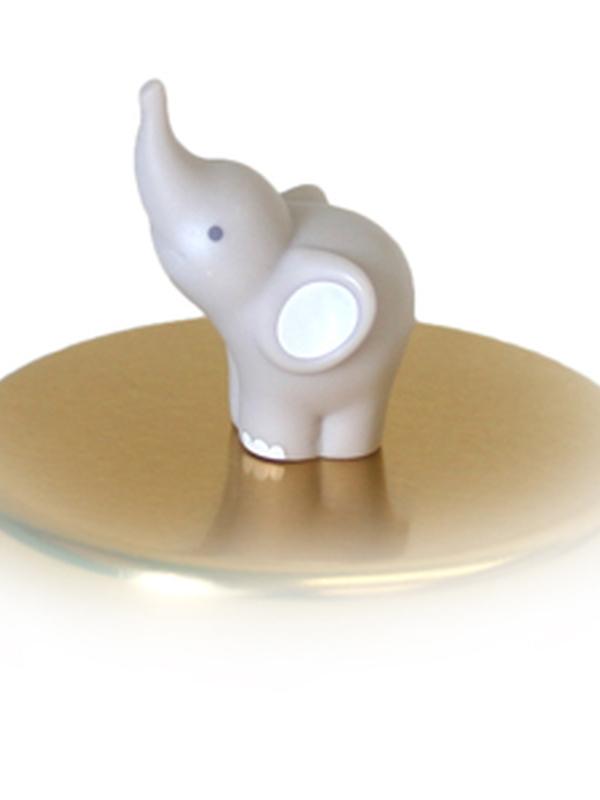 Olifant Grijs Magneet