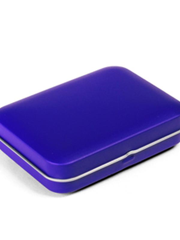 GALAXY BLUE BLIK DOOSJE RECHTHOEK 80,5 X 60 X 25