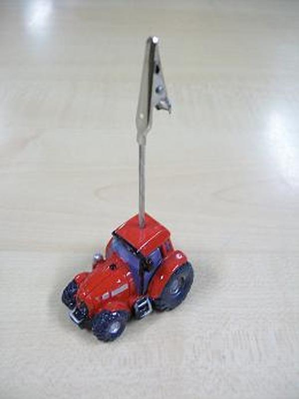 Tractor Rood Fotoclip