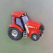 Tractor Rood Magneet