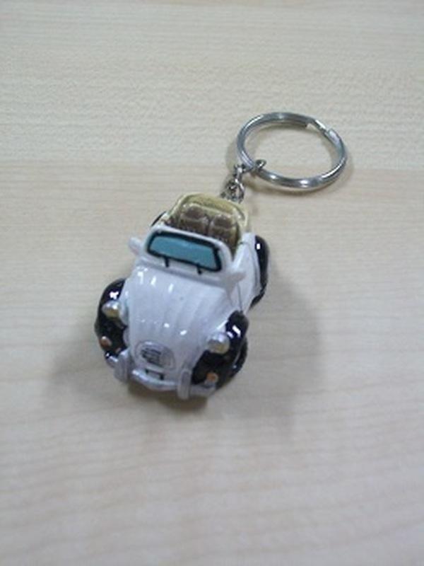 2 Pk Citroën Auto Sleutelhanger