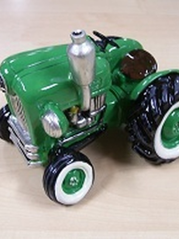 Tractor Spaarpot Groen
