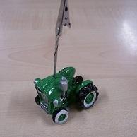 Tractor Fotoclip Groen