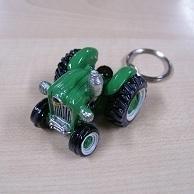 Tractor Sleutelhanger Groen