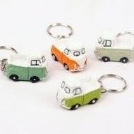 VW Busje pick-up sleutelhanger per stuk
