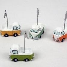 VW Busje pick-up fotoclip per stuk