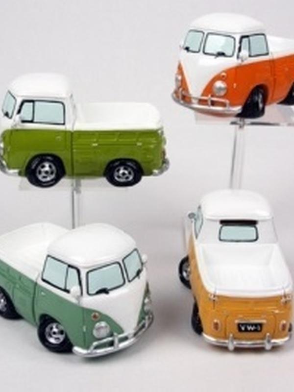 VW Busje pick-up spaarpot per stuk