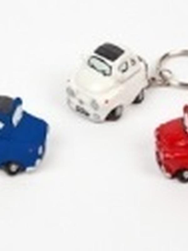 Auto Fiat 500 Sleutelhanger per stuk