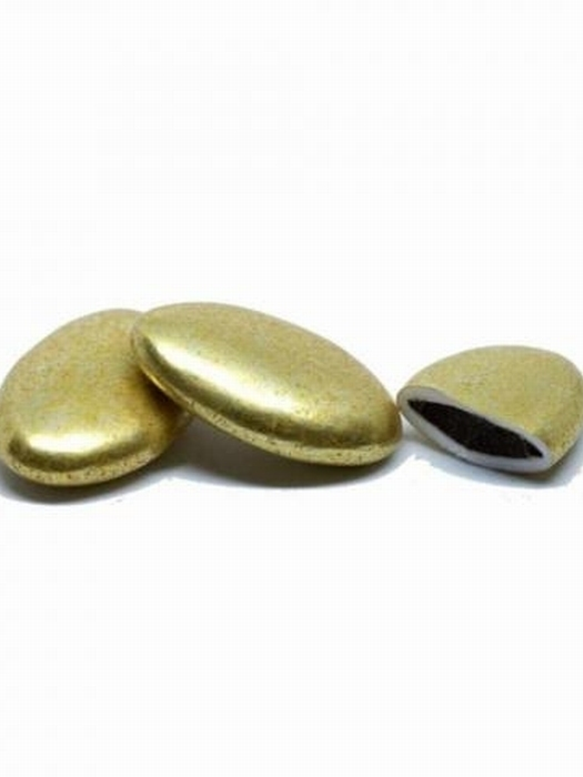 Chocolade Bonen Goud Metallic 1 Kg Papa Chocolat