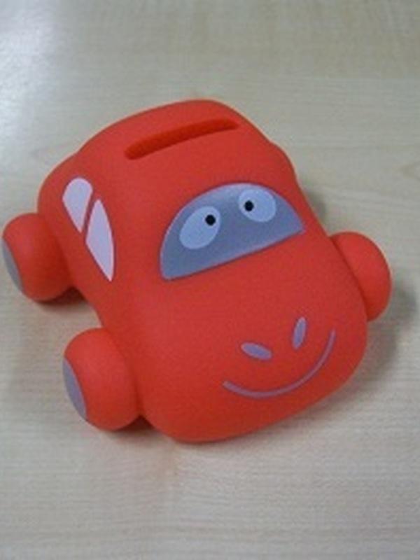 Auto Sammy Rood Mini Spaarpot