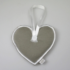 Hart Zand stof met hanglintje