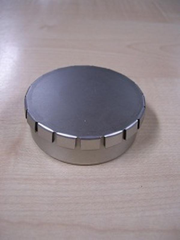 Blikje Clic-Clac Rond Klein H 2,0 x B 6,5 cm