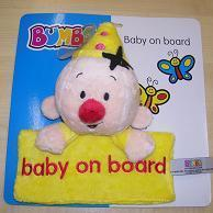 Bumba Baby on Board + Zuignap