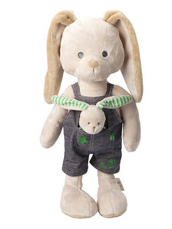 PERICLES BUNNY GROEN PLUCHE X-LARGE 50CM