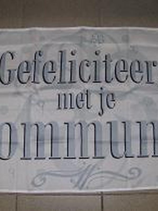 Vlag Comunnie 130 x 180 cm