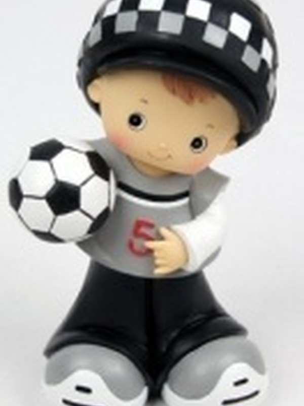 Voetbal Spaarpot Mannetje Muts