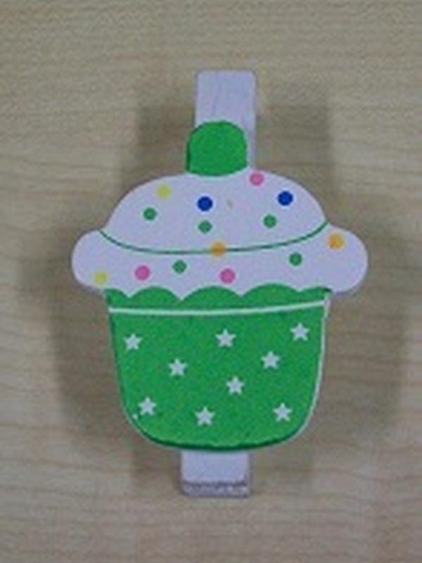 Cupcake Knijper Groen