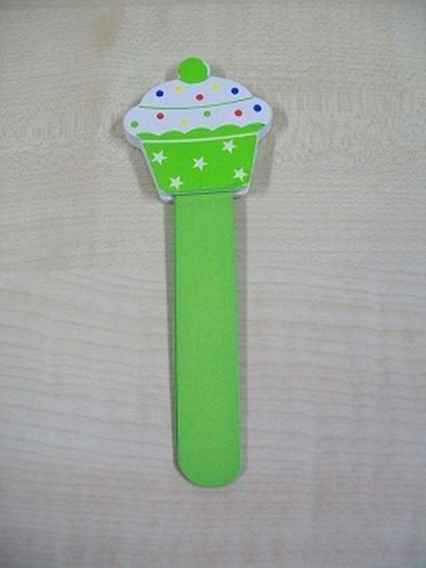Cupcakes Bladwijzer Groen